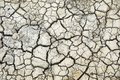 Dry cracks in dried out soil Royalty Free Stock Photos