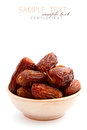 Dry dates Royalty Free Stock Photo