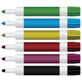 Dry erase set of colored markers with the ability to the writing vector illustration Stock Photo