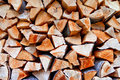 Dry firewood Stock Photography