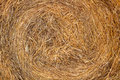 Dry hay stack natural background Royalty Free Stock Photo