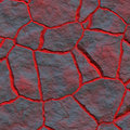 Dry lava Royalty Free Stock Images