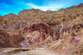 Dry mountains of Eilat Royalty Free Stock Photo