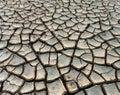 dry mud cracks Royalty Free Stock Photo