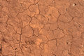 Dry mud a patch of brown with cracks clearly presented Royalty Free Stock Photos