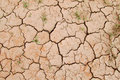 Dry red soil Royalty Free Stock Photo