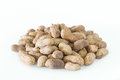 Dry roasted peanuts Royalty Free Stock Photo