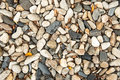 Dry round stones Royalty Free Stock Photo