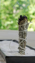Dry sage sticks for smudging Royalty Free Stock Photography