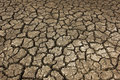 Dry soil arid at country Stock Images