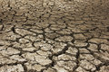 Dry soil arid at the country Royalty Free Stock Photo