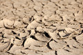 Dry soil closeup Stock Photo
