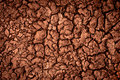 Dry soil closeup Royalty Free Stock Image