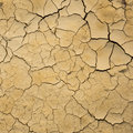 Dry soil texture. Royalty Free Stock Photo