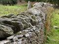 Dry Stone Wall Royalty Free Stock Photo