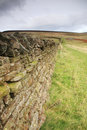 Dry stone wall in Cumbria Royalty Free Stock Image