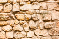 Dry stone wall material texture Stock Photos