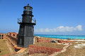 Dry Tortugas Harbor Light Royalty Free Stock Photos
