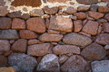 Drystone wall Royalty Free Stock Photo