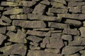 Drystone Wall (Gritstone) Royalty Free Stock Photo