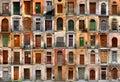 Drzwi Włoch Rzymu Zdjęcia Stock