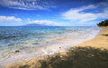 Dt. Fleming beach in west Maui Stock Photo