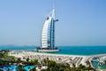 Dubai. Burj Al Arab hotel Royalty Free Stock Photo