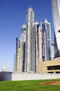 Dubai city, Marina District Stock Photo