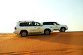 The dubai desert trip in off road car uae september is major tourists attraction on september uae Stock Image