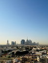 Dubai downtown district uae skyline united arab emirates Stock Photography