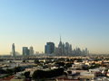 Dubai downtown district uae skyline united arab emirates Stock Photo