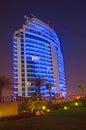 Dubai Highrise building Royalty Free Stock Photo