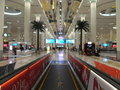 Dubai International-Luchthaven in de V.A.E Royalty-vrije Stock Afbeelding