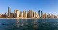 Dubai, Jumeirah Beach Residence Royalty Free Stock Photo