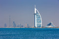 Dubai is known as the playground for architects Royalty Free Stock Image