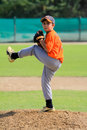 Dubai Little League Pitcher Stock Photos