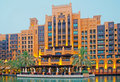 Dubai Luxury Hotel Royalty Free Stock Image