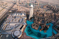 The Dubai Mall is the world's largest shopping mal Royalty Free Stock Photo