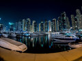 Dubai Marina boats Royalty Free Stock Photo