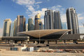 Dubai Marina Metro Station Stock Photography