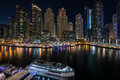 Dubai Marina in the UAE Royalty Free Stock Photo
