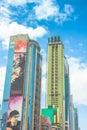 Dubai modern buildings Royalty Free Stock Photo