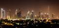 Dubai by night Royalty Free Stock Photo