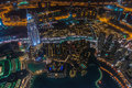 Dubai at Night Royalty Free Stock Photo