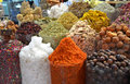 Dubai spice souk or the old in Stock Image