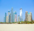 Dubai Town scape Royalty Free Stock Photo