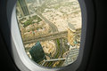 Dubai uae aerial view united arab emirates Royalty Free Stock Image