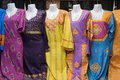 Dubai uae colorful women s dresses are displayed for sale at the al naif souq in deira Stock Photo