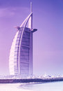 Dubai uae jan burj al arab m second tallest hotel world luxury hotel stands artificial island january jumeirah beach dubai united Stock Photo