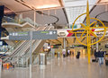 Dublin airport ireland may the interior of terminal at on may in is s busiest with Stock Photos